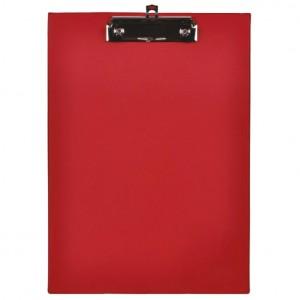 Ploča klip+kvačica A4 kartonski pp Fornax crvena