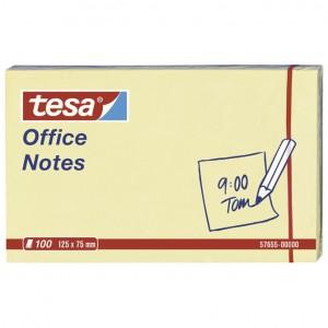 Blok samoljepljiv 125x75mm 100L Office notes Tesa žuti
