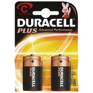 Baterija alkalna 1,5V C Basic pk2 Duracell LR14