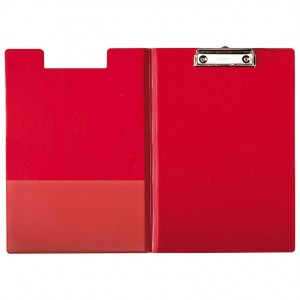 Ploča klip s preklopom A4 pvc Esselte crvena