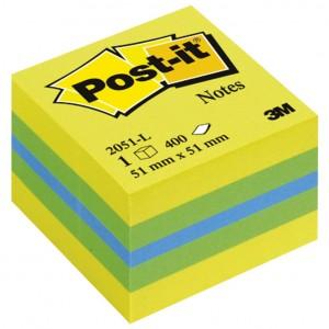 Blok samoljepljiv kocka 51x51mm 400L Post-it