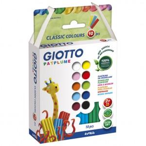 Plastelin 10bojax20g extra soft Giotto Fila