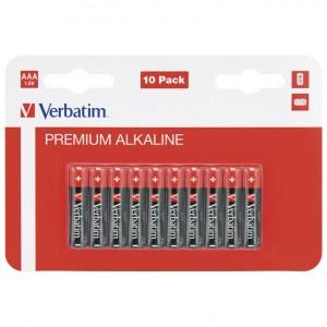 Baterija alkalna 1,5V AAA pk10 Verbatim