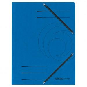 Fascikl klapa s gumicom karton A4 Herlitz 10843910 plavi