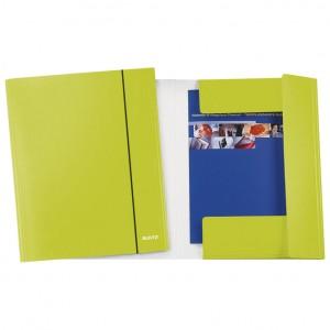 Fascikl klapa s gumicom karton A4 Wow Leitz 39830064 metalik svijetlo zeleni