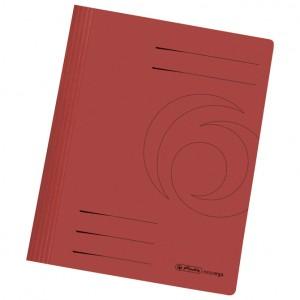 Fascikl mehanika euro karton A4 Herlitz 10902476 crveni