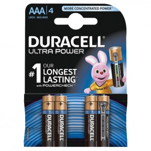 Baterija alkalna 1,5V AAA Ultra 3+1 Duracell LR6