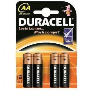 1,5V AA Basic pk4 Duracell