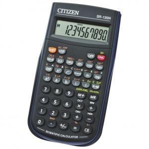 Kalkulator tehnički 8+2mjesta 128 funkcija Citizen SR-135N crni