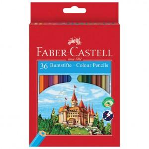 Boje drvene 36boja Faber Castell