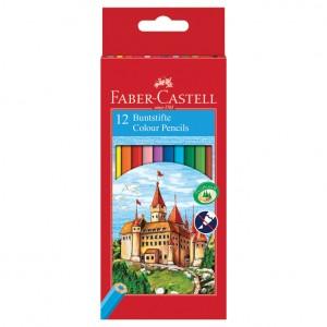 Boje drvene 12boja Faber Castell
