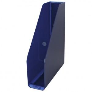 Stalak za spise okomit plastičan Fornax plava
