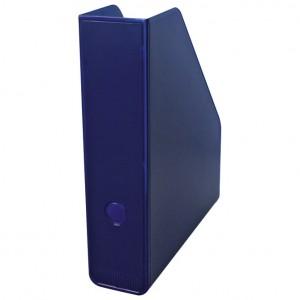 Stalak za spise okomit plastičan Fornax plava2