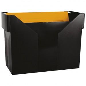 Kutija za mape viseće +5mapa Donau crna