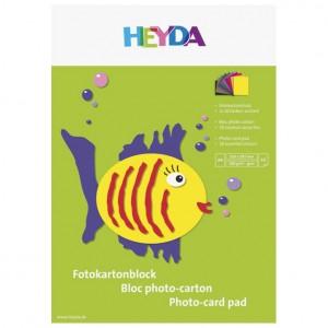 Kolaž - blok A4 10 listova 300g papir u boji Heyda