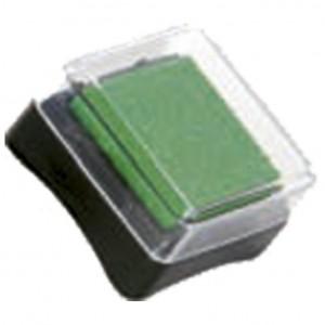 Jastučić za pečat 3x3cm Heyda tamno zeleni