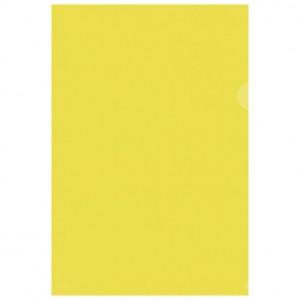 """Fascikl """"L"""" 120my pp A4 mat pk50 Fornax žuti"""