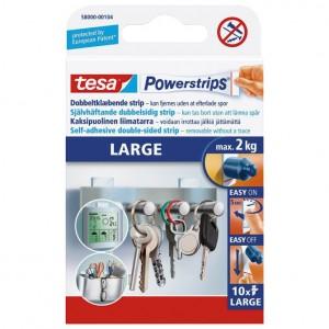 Ljepilo obostrano large pk10 Powerstrips Tesa