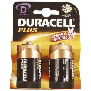 Baterija alkalna 1,5V D Basic pk2 Duracell LR20