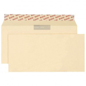 Kuverte u boji 11x23cm strip pk25 Elco bež