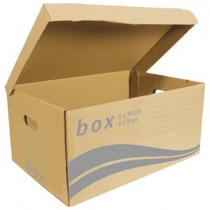 Kutija arhivska-kontejner za arhivske kutije Fornax smeđa