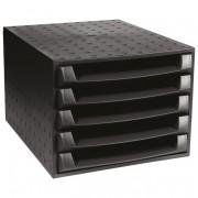Kutija s 5 ladica Exacompta crna