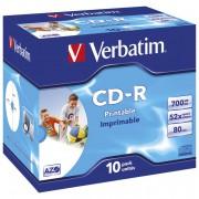 CD-R 700/80 52x JC AZO printable Verbatim