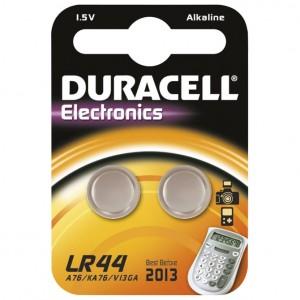 Baterija alkalna 1,5V pk2 Duracell LR44