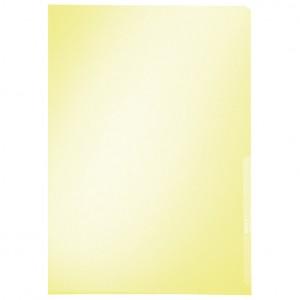 """Fascikl """"L"""" 150my pvc A4 Leitz žuti"""