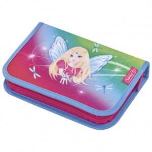 Pernica puna 1zip 2preklopa Rainbow Fairy Herlitz