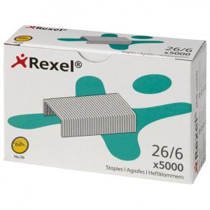 Spajalice strojne br.26/6 pk5000 No.56 Rexel