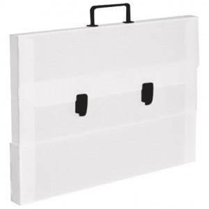 Torba-kofer pp-tvrdi 560x420x55mm Dispaco bijela