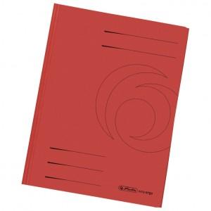 Fascikl klapa karton reciklirani A4 Herlitz 11076445 crveni