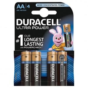 Baterija alkalna 1,5V AA Ultra 3+1 Duracell LR6