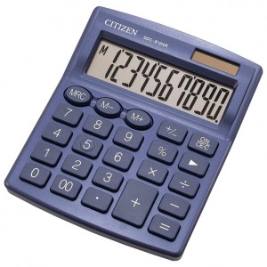 Kalkulator komercijalni 10mjesta Citizen SDC-810NRNVE plavi
